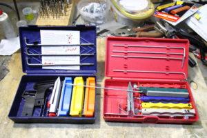 Наборы заточных систем для ножей