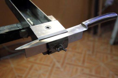 Приставка для заточки филейных ножей